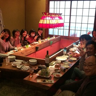 ◆大人気◆【特別個室】で宴会を!コースは3500円~ご用意♪