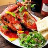 活海老バル orb - 料理写真:選んだオマールは目の前の鉄板で調理します♪ 鮮度が抜群!