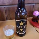 光栄軒 - 瓶ビール(大瓶)