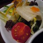 2624158 - 野菜サラダ(黒ゴマドレッシング)