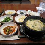 ヤンさんの台所 - カルビタン定食2014/04