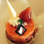 かぎや菓子舗 - 苺ティラミス350円