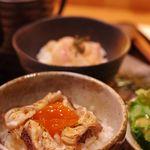 日本酒庵 吟の杜 - 二味鯛膳