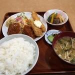 お食事処 菊水 - 日替わり定食(530円)