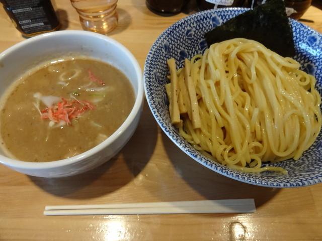 麺屋 司 - 海老塩つけめん・中盛(¥850)