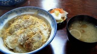 春駒食堂 - カツ丼 700円
