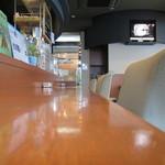 カフェ オトワヤ - 店内カウンター