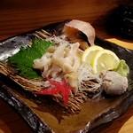 せくら - バイ貝刺身