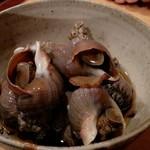 せくら - ばい貝煮物