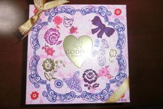 ゴディバ 東京ドームシティラクーア店 - 2014バレンタインシーズン チョコレートケーキ