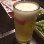 お好み焼き でぃお - 沖縄以来だよ(≧∇≦)バド生(`_´)ゞ