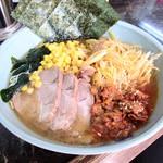 ラーメン屋 麺一 - 『ねぎからしチャーシューメン』1150円。