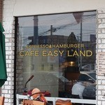 MAD BURGER - 【MAD BURGER】CAFE EASY LANDの名残のあるウィンドウ