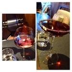 La Serre - 次に「グラスの赤」を。ニュージーランドワインです。  オーストラリアやニュージーランドは安くて美味しいワインがありますが。これは好みではないですね。