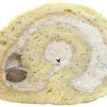 ジャルダンドゥボヌール - 黒豆きな粉と豆のロールケーキ