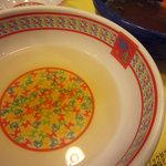 どうとんぼり 神座 - つけ麺 割りスープ