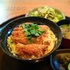 北諸 - 料理写真:カツ丼定食(観音池ポーク)