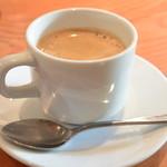 京町家イタリアンろんくす - 2014/04 Bランチ 1,900円 コーヒー