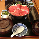 26252811 - すき焼き鍋ランチ590円