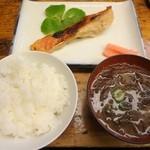 26255579 - 金目鯛の味噌漬+ライスセット