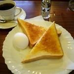 アルマンド - ブレンドコーヒー 410円。モーニングサービス 50円。