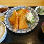 26258994 - ミックスフライ定食¥1,250-