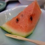 香村 - デザートの西瓜