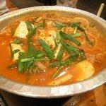 ぜん吉 - キムチ鍋
