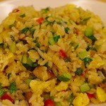 虎坊 - 青菜と叉焼の炒飯