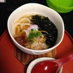 新鮮処 魚里 - ミニうどん 380円