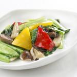 避風塘 - いろいろ野菜の炒め