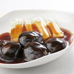 避風塘 - 白菜と椎茸のオイスターソースかけ
