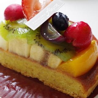 サロン・ド・テ・アルション - 料理写真:フルーツタルト
