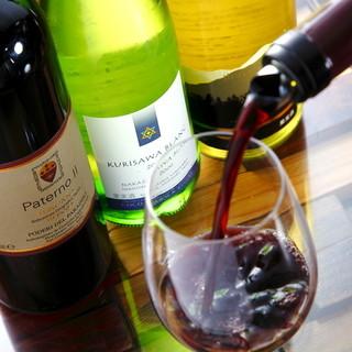 国内外の貴重な自然派のビオ・ワインを中心にご用意!