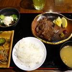 26263202 - 牛タン網焼定食(ご飯お替り自由) 1200円