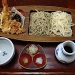 泉の里 - 夫婦揃い天ぷら膳