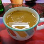 26275343 - レンズ豆のスープ