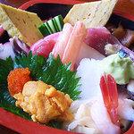 誠寿司 - 海鮮ちらし