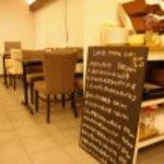 カームカフェ - 店内 夜