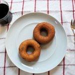 はらドーナッツ - プレーンとさつまいものドーナツ