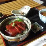 和食処 広瀬 - まぐろ丼 1,050円