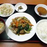 火四季 - 鶏肉の四川風炒めランチ