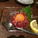 26293850 - 桜肉のユッケ