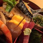 Akasakaajisai - 小箱弁当アップ