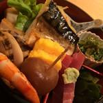 Akasakaajisai - 小箱弁当1100円