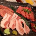 焼肉あかみうし - 本日の盛り合わせ5種