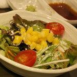 焼肉あかみうし 恵比寿 - サラダ