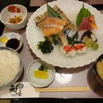 酒菜和の香 - 2013/08 お造り定食