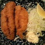 焼鶏館 - アジフライ
