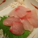 焼鶏館 - さわら刺し(だったかなぁ~)